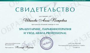 Обучение шугарингу сертификат
