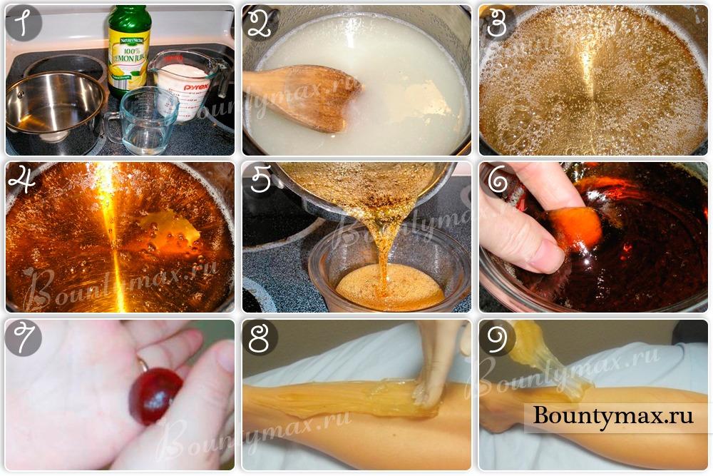 Сахарная паста в домашних условиях как правильно  299